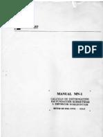 Manual MN-1 Calc. de Deformações em fundações submetidas a esforços horizontais