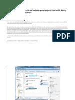 Cómo crear un arranque USB del sistema operativo para XiaoPanOS