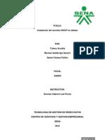 Instalacion de Dhcp en Debian 6equipo3.Ficha322000