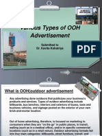 The OOH advertising