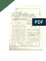 O ARATICUM nº 1 - orgão de divulgação oficial do CAAD