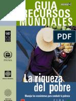 Recursos Mundiales 2006 WRI La Riqueza Del Pobre