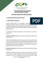 Proyecto Educativo Institucional PEI-2011