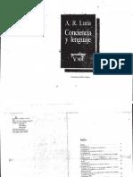 14848818 Alexander Luria Conciencia y Lenguaje