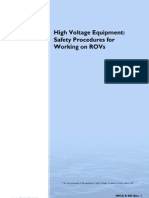 IMCAR005 High Voltage Equipment ROV
