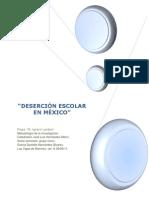 Desercion Escolar en Mexic1