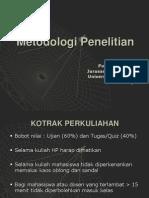 Metodologi Penelitian - 1 - Filosofi Penelitian