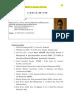 Dr. Punit Kumar Dwivedi [CV]