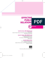 Efective Public Relations, 9th