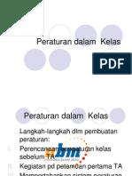 PB11MAT_11Bahan - Pert Ke-11 Peraturan Dalam Kelas
