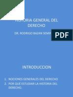 CLASE_1Historia General Del Derecho