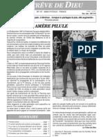 Bulletin Trêve de Dieu Juin 1997