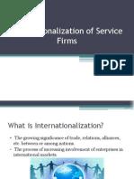 Internationalization of Service Firms