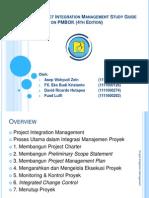 Presentasi Kelompok - Project Integration Management