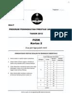 2012 PSPM Kedah Fizik 2 w Ans