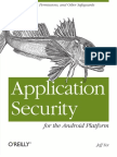 OReilly Application Security for the Android Platform (2012)