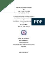 An Internship Report Final