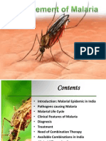 Management of Malaria
