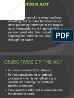 Arbitration Act (1996)
