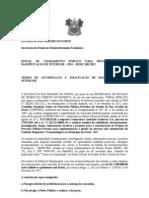Edital Chamento Publico Andrade Gutierrez