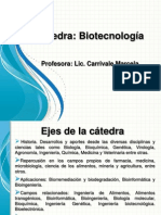Introduccion Biotecnologia