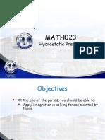 6 Hydrostatic Pressure