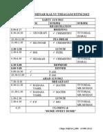(Latest Timetable)