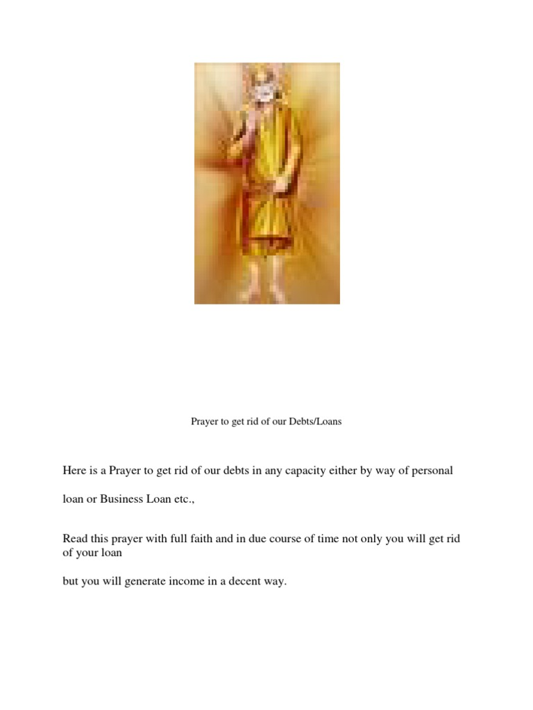 Prayer to Get Rid of Our Debts   Religious Faiths   Hindu
