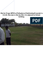 Sites for D Type MPCS in E.G.districts