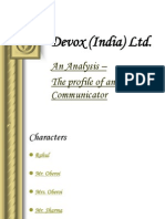 1 Devox (India) Ltd