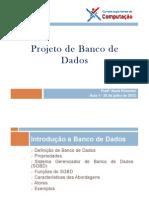 ProjetoBancoDados_Aula1