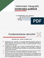 Sistemul Informatic Geografic WinGIS Professional - Prezentare Romana - Pt.administratia Publica
