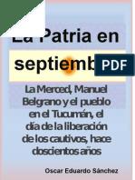 La Merced - Belgrano y el pueblo del Tucumán un 24 de septiembre