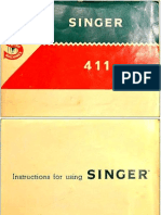 Singer 411g Ib Sewing Machine Manual