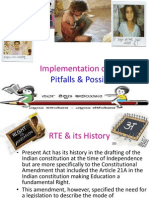 Implementation of RTE Act - Pitfalls & Possibilities