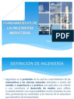 Fundamentos de La Ingenieria Industrial