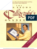 Ken Brown Calligraphy Handbook
