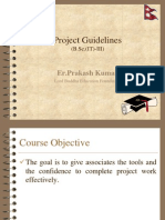 Selection of Project 3B.sc.(IT) Fall 2012 Session