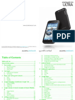 Onetouch 995 User Manual English