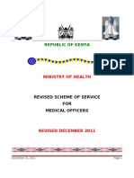MOH Proposed Scheme of Service Doctors