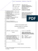 Apple v. Samsung 21 Sept 2012 filing