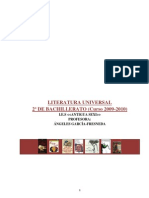 Dossier Literatura Universal 2º de Bach.