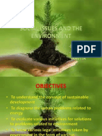 Social Issues and the Envvironment