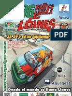 Revista Oficial 36 Rallye Villa de Llanes 2012