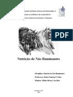 NUTRICÃO DE NÃO RUMINATES - Material de Estudo