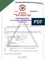 Convocatoria 10º Gr. 22-09-2012