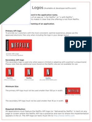 Netflix Logo Guidelines | Netflix | Logos