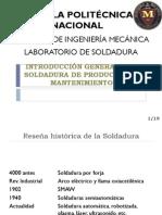 1. INTRODUCCIO¦üN GENERAL A LA TECNOLOGI¦üA DE LA  SOLDADURA
