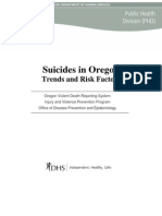 Suicide in Oregon Trends and Risk Factors