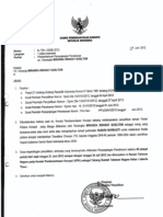 Surat Pemberitahuan Perpanjangan Penahanan Tersangka - Miranda S Goeltom
